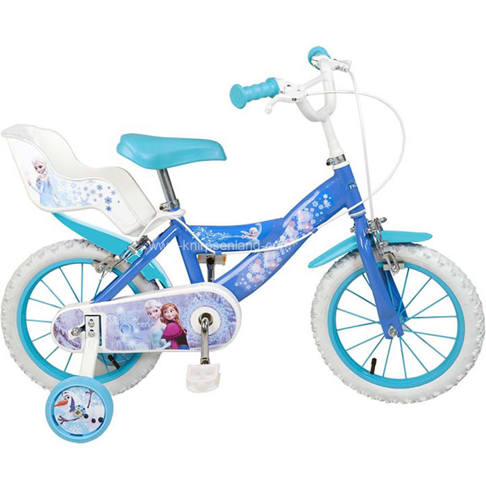 disney frozen 16 zoll fahrrad kinderfahrrad kinder. Black Bedroom Furniture Sets. Home Design Ideas