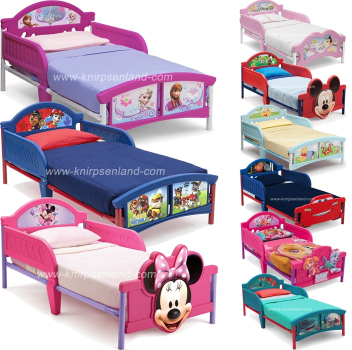 disney kinderbett kinder bett kinderm bel jugendbett 140x70 cars minnie frozen ebay. Black Bedroom Furniture Sets. Home Design Ideas
