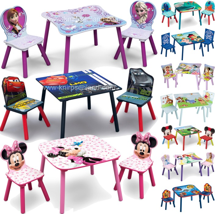 disney sitzgruppe kindersitzgruppe sitzgarnitur kinder holz stuhl tisch. Black Bedroom Furniture Sets. Home Design Ideas