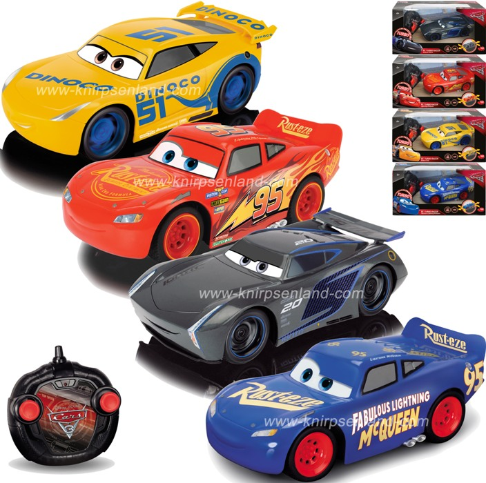 disney cars 3 rc turbo racer ferngesteuertes auto mcqueen jackson storm cruz neu ebay. Black Bedroom Furniture Sets. Home Design Ideas