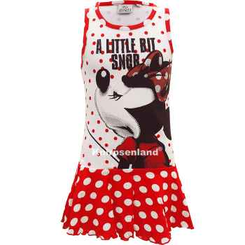 Disney Minnie Kleid Sommerkleid Kinder Rot