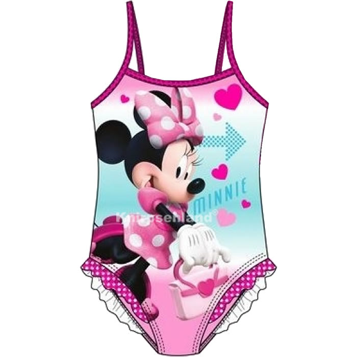 Knirpsenland Babyartikel - Disney Minnie Mouse Maus Badeanzug Kinder ...