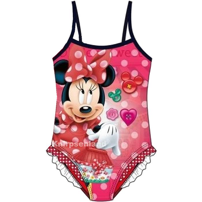 Disney Minnie Mouse Maus Badeanzug Kinder Bade Anzug Mädchen