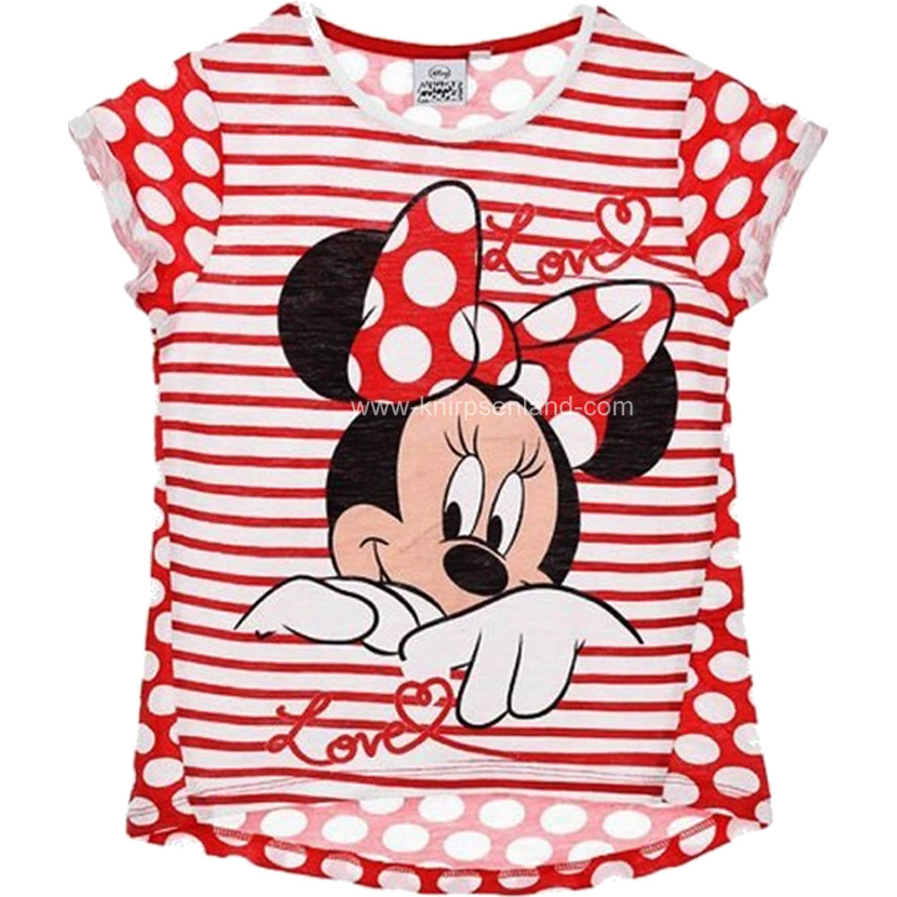 Disney Minnie Baby T-Shirt rot