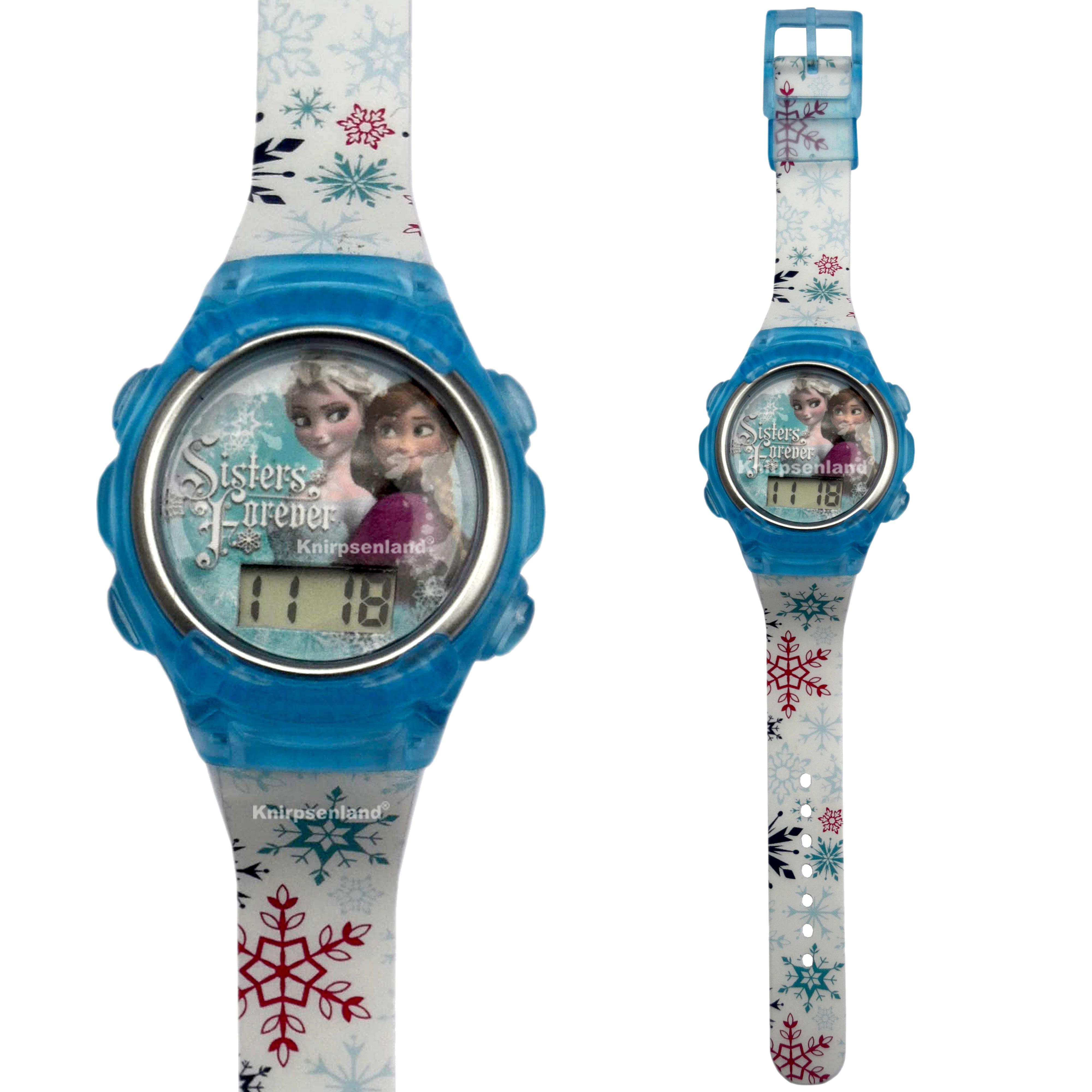 knirpsenland babyartikel disney kinder silikon armband uhr digital kinderuhr armbanduhr. Black Bedroom Furniture Sets. Home Design Ideas