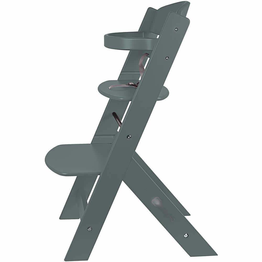 knirpsenland babyartikel treppenhochstuhl holz hochstuhl kinderhochstuhl babyhochstuhl grau. Black Bedroom Furniture Sets. Home Design Ideas