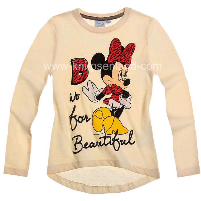 Langarmshirt Longsleeve Shirt Minnie Mouse Disney Gr. 116