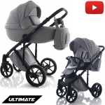 Kombi Kinderwagen Ultimate Grau